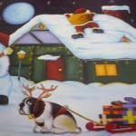 Ayudar a Papá Noel  a elegir los juguetes de los niños. Foto Consuleo Tomás . www.tratamientospisoclogicos.es