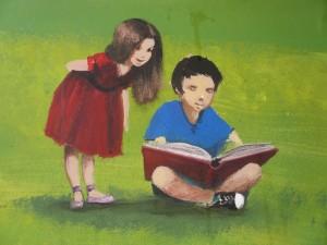 Regalar un libro es regalar un tesoro por descubrir. Foto Consuelo Tomás. 28-12-2014